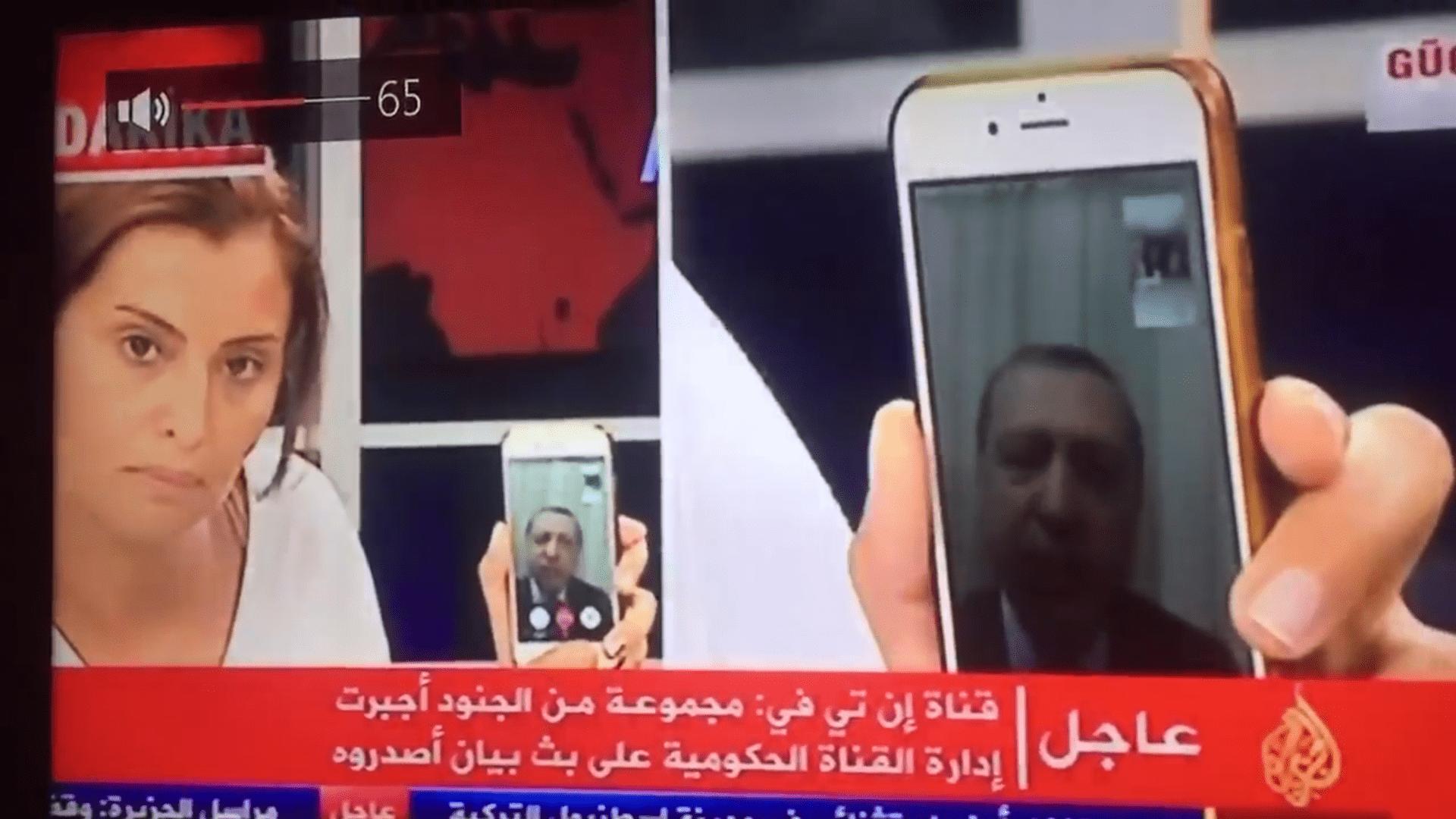 Putsch militaire en turquie contré par un facetime d'erdogan
