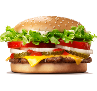 ok google whopper burger king maison
