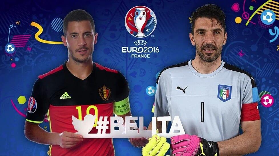 Résultats euro 2016 : belgique – italie, l'italie remporte le match 2-0