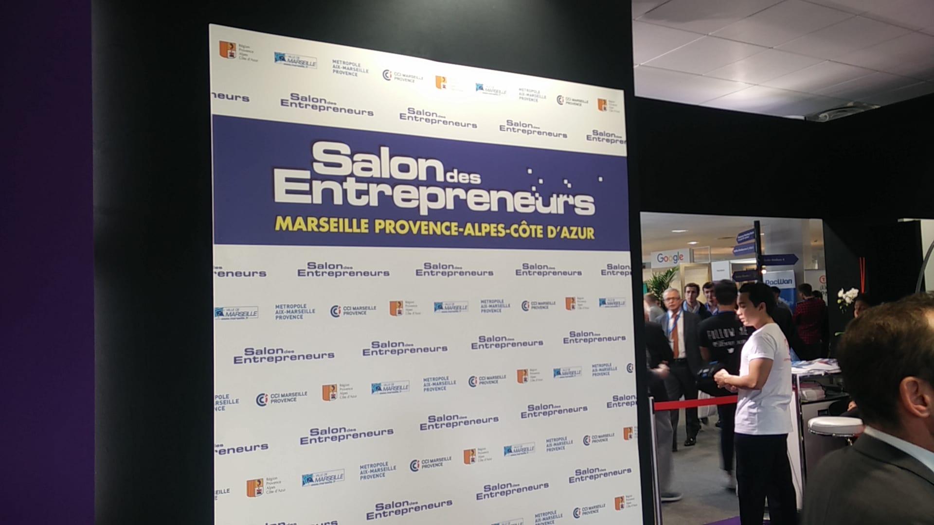 Salon entrepreneurs Marseille, site internet, référencement etréseaux sociaux