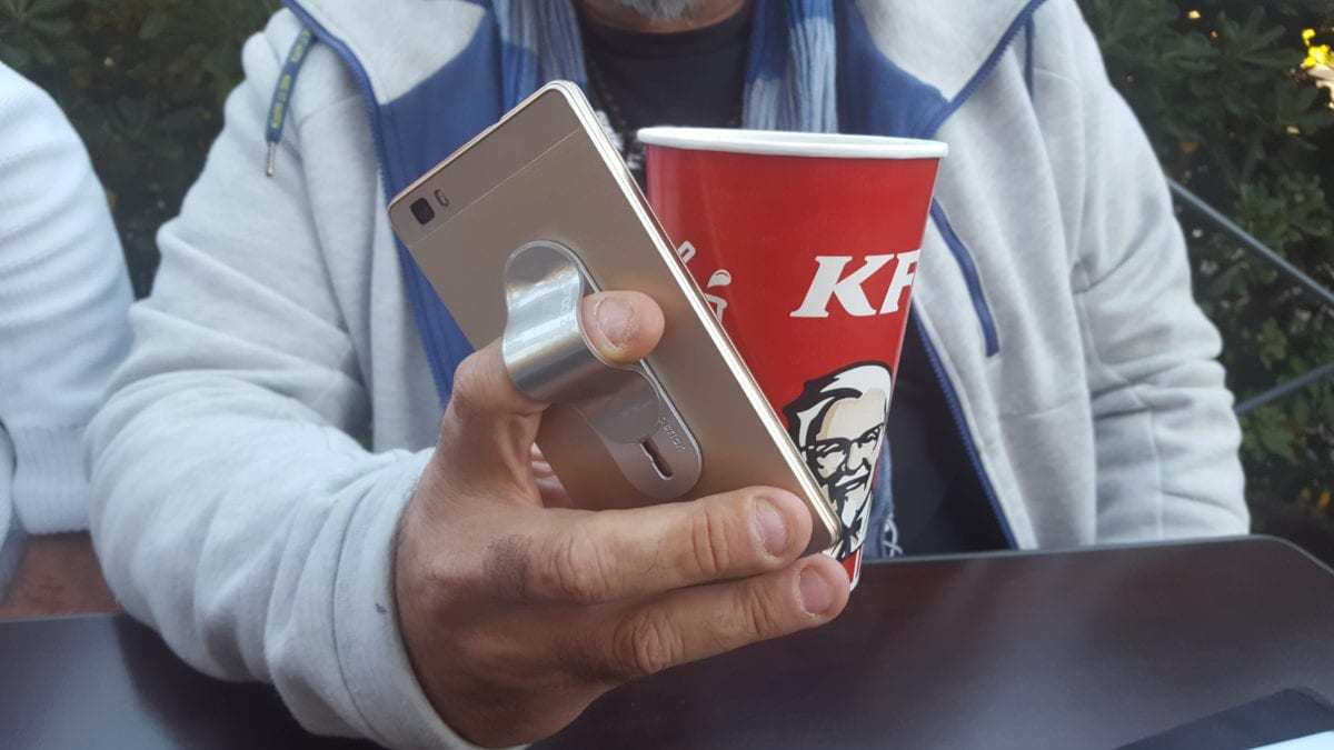 Huaweï se montre chez KFC