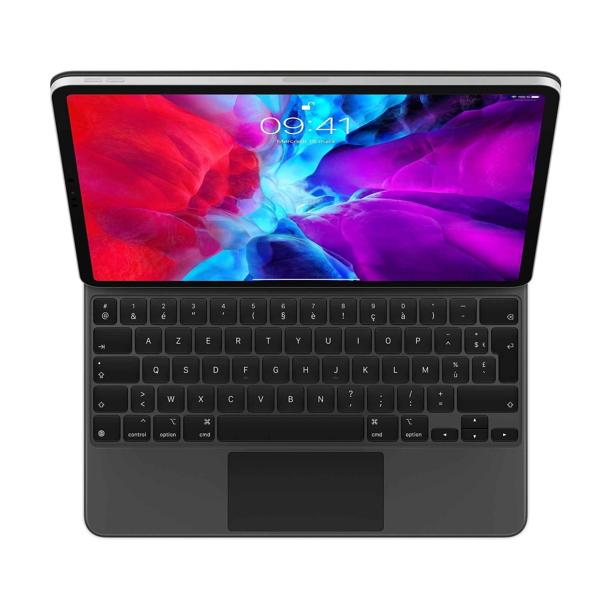 magic keyboard ipad pro vu de dessus